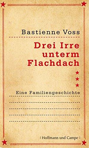 Buch-Cover: Drei Irre unterm Flachdach.